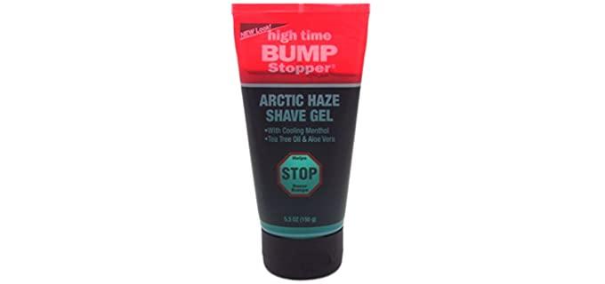 High Time Bump Stopper - Razor Bumps Shaving Cream