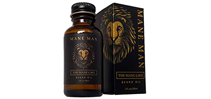 Mane Tame No Fuse - Best Smelling Beard Oil