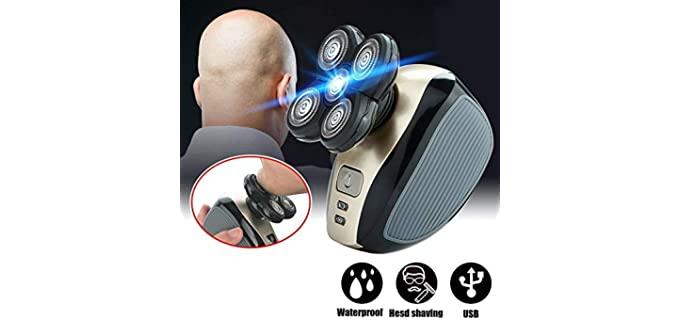 BeaYoo Easy Head - Rotary Clippers For Bald Head