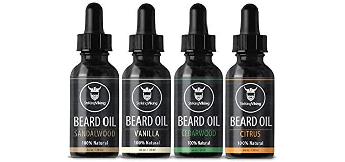 Striking Viking Scented - Good Smelling Beard Oil