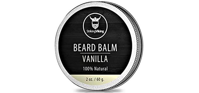 Striking Viking Vanilla;Organic;Conditioning - Beard Balm