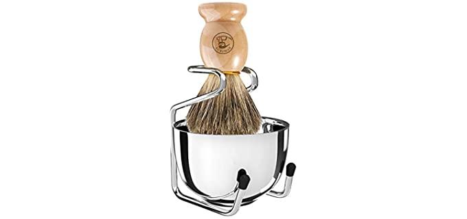 Acrimax Set - Wood Shave Brush