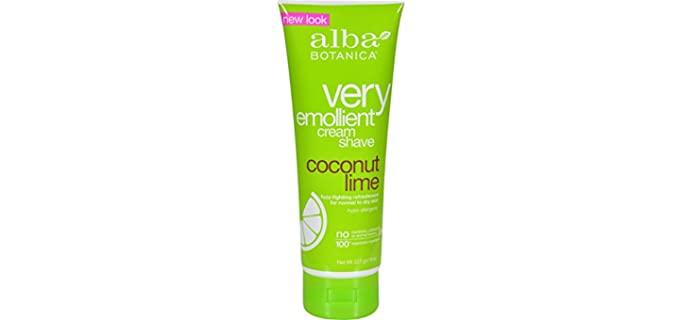 Alba Botanical Moisturizing - Moisturizing Shaving Cream