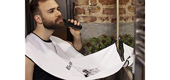 beard trimming apron