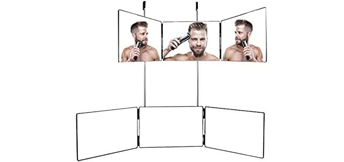 Kityall Three Way - head Shave Mirror
